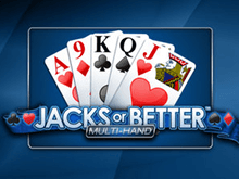 Классический азартный видео-покер Jacks Or Better By Playtech